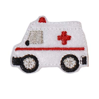 Ambulance Embroidery File