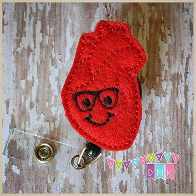 Harvey the Heart Felt Badge Reel