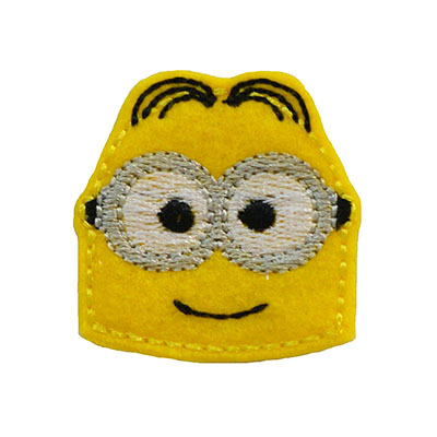 Banana Man 2 Eyed Parted Hair Embroidery File