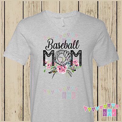 Baseball Mom Poppies