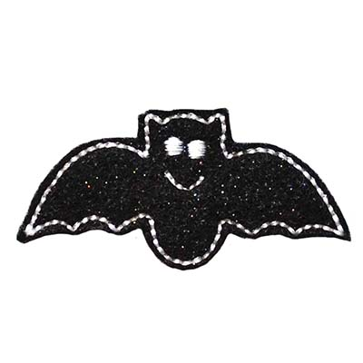 Not So Spooky Bat Embroidery File