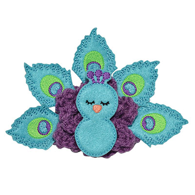 Build A Bow Peacock Embroidery File