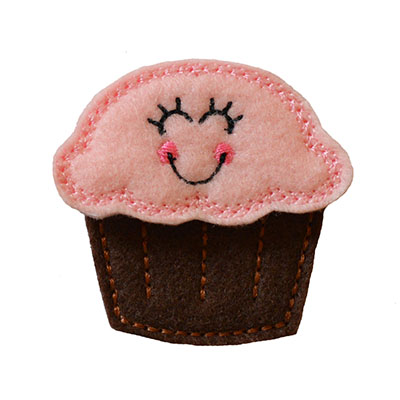 Casie the Cupcake Embroidery File