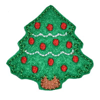 Christmas Tree Embroidery File
