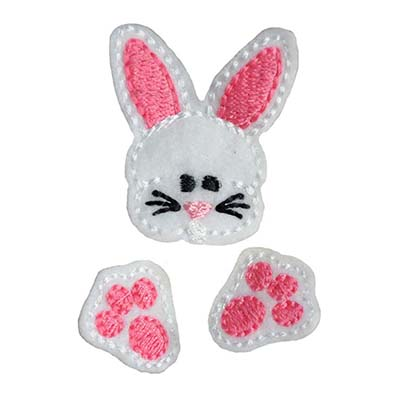 Chubby Bunny MINI Set Embroidery File