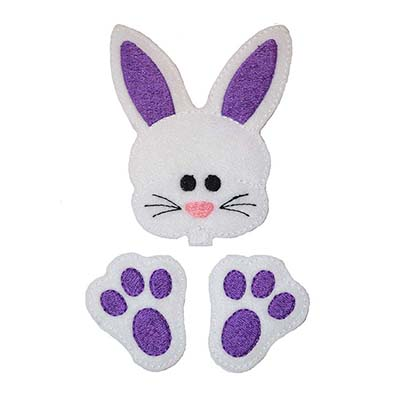Chubby Bunny OVERSIZED Set Embroidery File