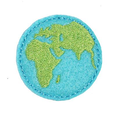 Earth Embroidery File