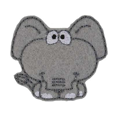 Ellie the Elephant Embroidery File