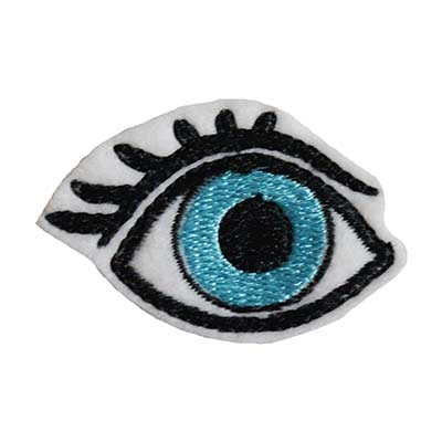 Eye with Lashes Embroidery File