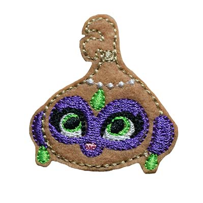 Genie Monkey Embroidery File