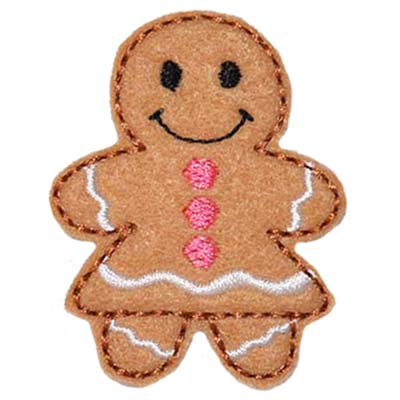 Gingerbread Girl Embroidery File