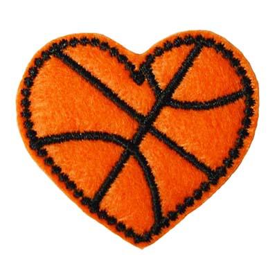 Basketball Heart Embroidery File