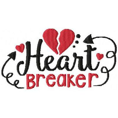 Heart Breaker Embroidery File