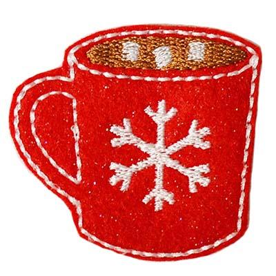Hot Cocoa Embroidery File