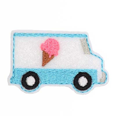 Ice Cream Truck Embroidery File