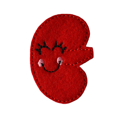 Kynnedy the Kidney Embroidery File