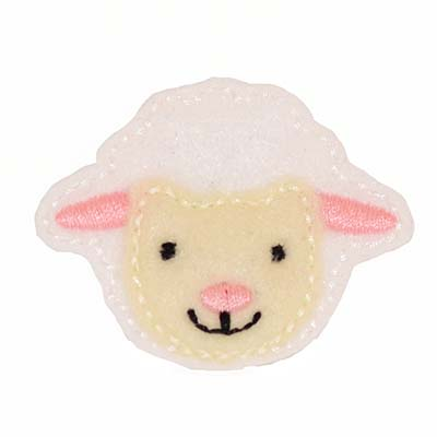 Fluffy Lamb Embroidery File