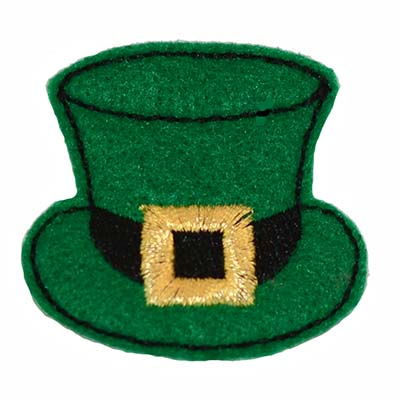 Leprechaun Hat with Gold Band