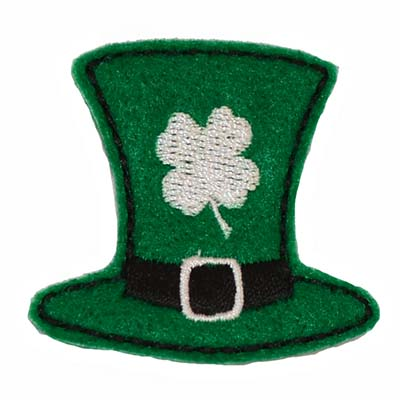 Leprechaun Hat with Shamrock