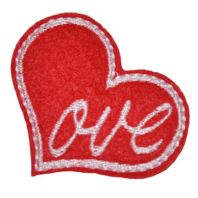 Love Heart Embroidery File
