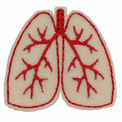 Lungs Embroidery File