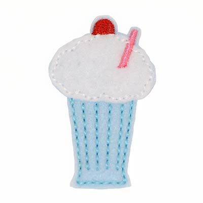 Blue Moon Milkshake Embroidery File