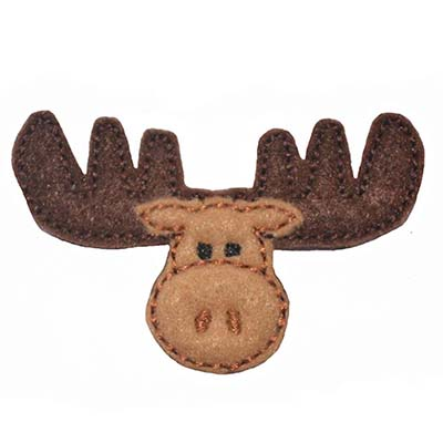 Marty the Moose Embroidery File