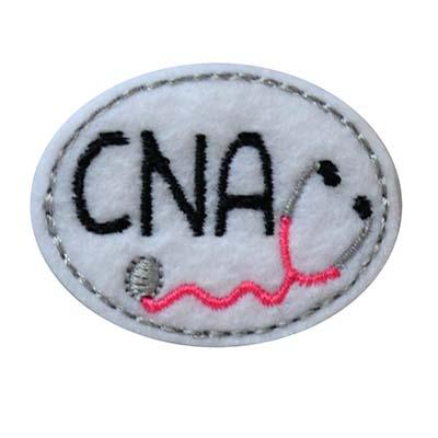 CNA Oval Stethoscope Embroidery File