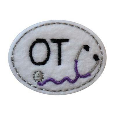 OT Oval Stethoscope Embroidery File