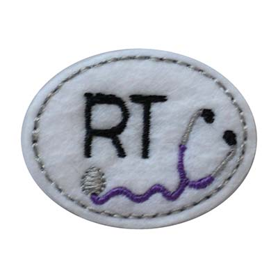 RT Oval Stethoscope Embroidery File