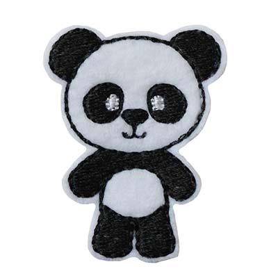 Panda Full Body Embroidery File