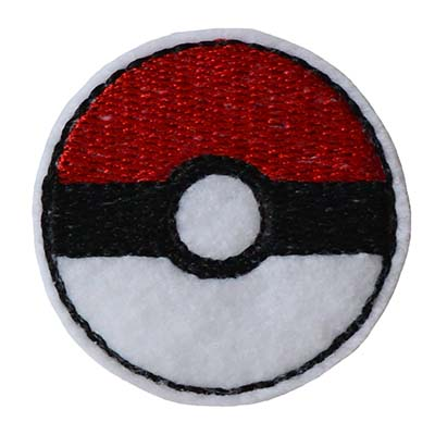 PokeBall Embroidery File