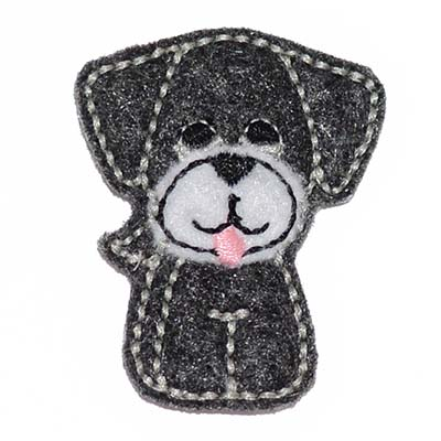 Puppy Dog Embroidery File
