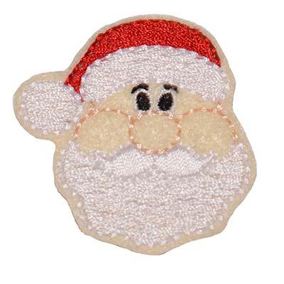 Santa Face Embroidery File