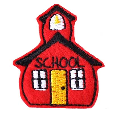 Schoolhouse Embroidery File
