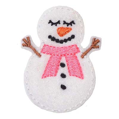 Sleepy Snowman Embroidery File
