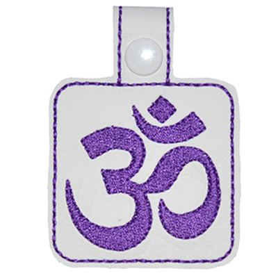 Snap Tab Yoga Ohm Embroidery File
