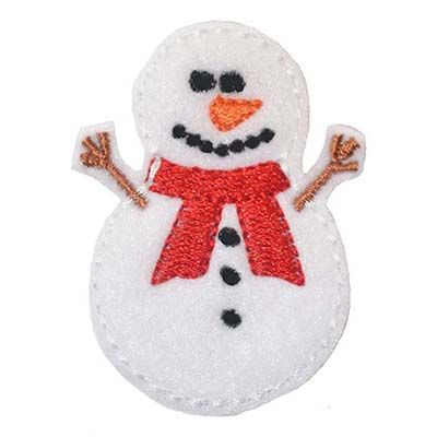 Snowman Embroidery File