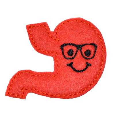 Stanley the Stomach Embroidery File