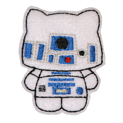 Star Kitty R2 Embroidery File