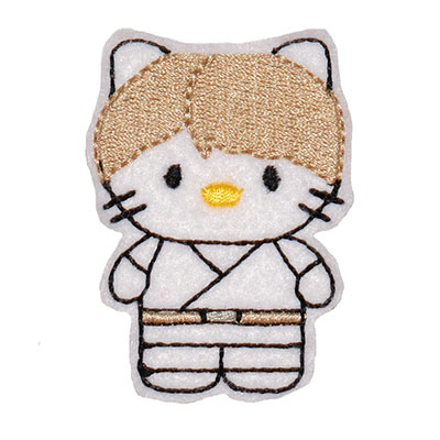 Star Kitty Luke Embroidery File