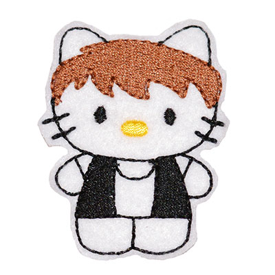 Star Kitty Solo Embroidery File