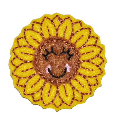 Sunny the Sunflower Embroidery File