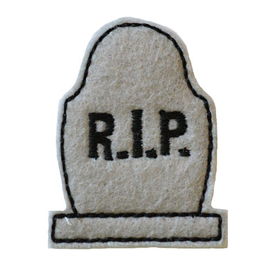 Tombstone Embroidery File