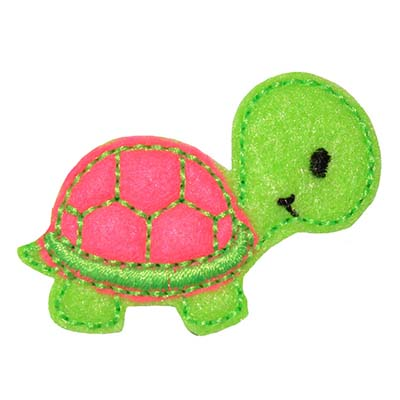 Turtle Baby Regular Shell Embroidery File