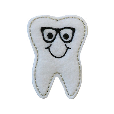 Tyler the Tooth Embroidery File