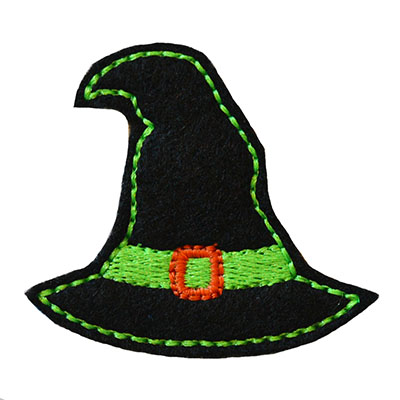 Witch Hat Embroidery File