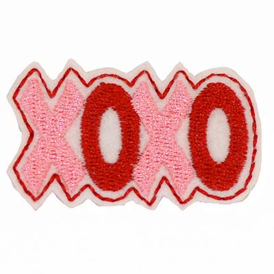 XOXO Embroidery File