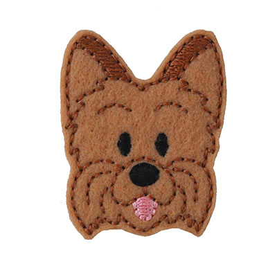 Yorkie Embroidery File