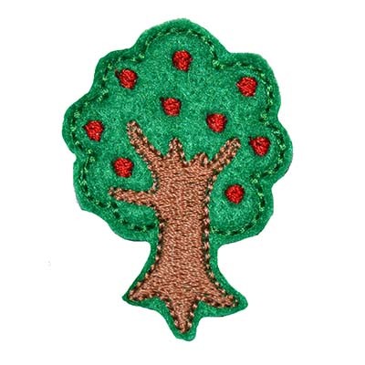 Apple Tree Embroidery File
